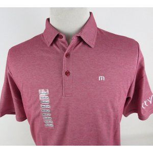 Travis Mathew Prestige 77 Medium Golf Polo Shirt